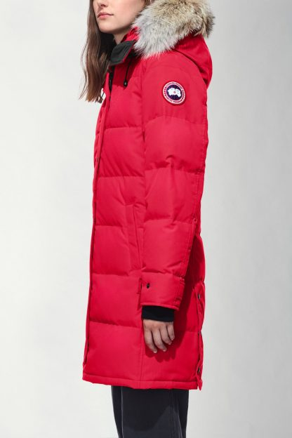 a44bc4e86cbb The factory direct Red Canada Goose Parkas Shelburne Parka Canada Goose  Outlet Online Reviews 3802L